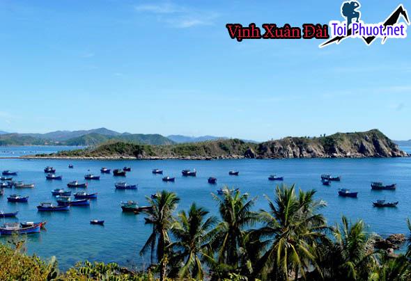 Vịnh Xuân Đài Phú Yên, điểm du lịch lý tưởng Gành Đỏ Vịnh Xuân Đài