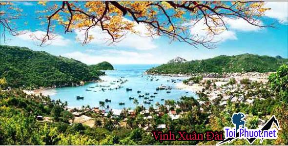 Vịnh Xuân Đài Phú Yên, điểm du lịch lý tưởng  - Góc ảnh Vịnh Xuân Đài tuyệt đẹp