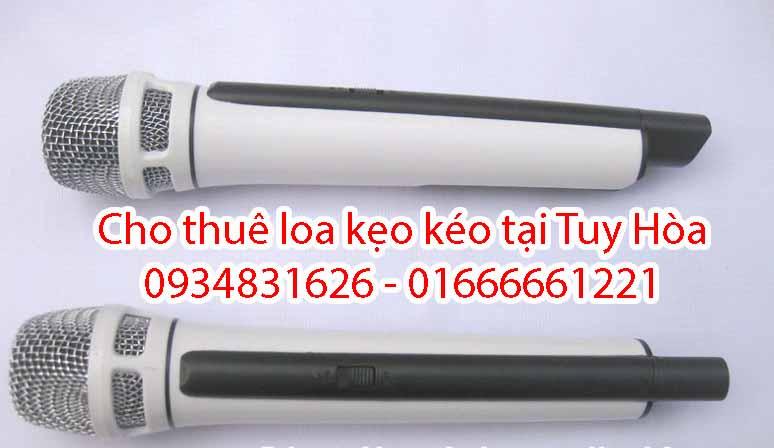 cho thuê loa kẹo kéo giá rẻ tại Tuy Hòa Phú Yên 3