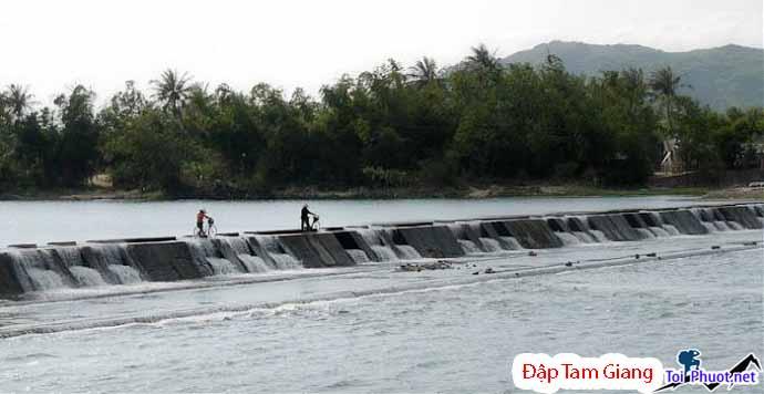 Du lịch Đập Tam Giang Phú Yên mộc mạc yên bình