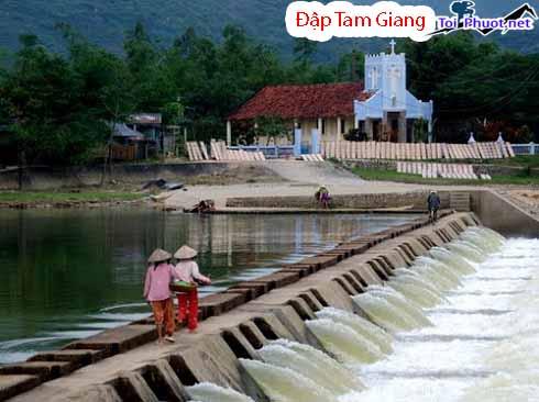 Du lịch Đập Tam Giang Phú Yên thơ mộng