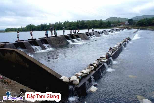 Du lịch Đập Tam Giang Phú Yên