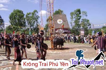 khu bảo tồn thiên nhiên Krông Trai Lễ hội đâm trâu